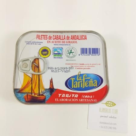 Filetes de caballa de Andalucía La Tarifeña