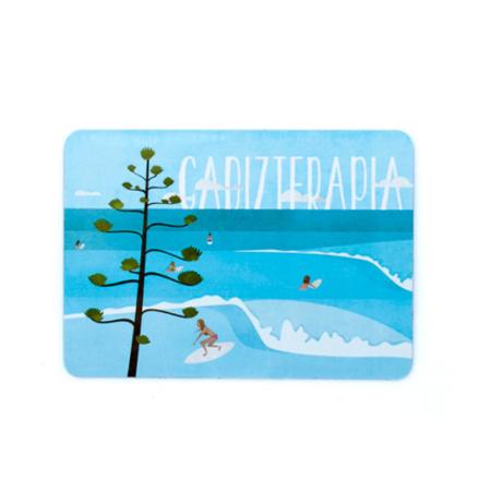 Imán DÍA DE SURF - Be Guiri