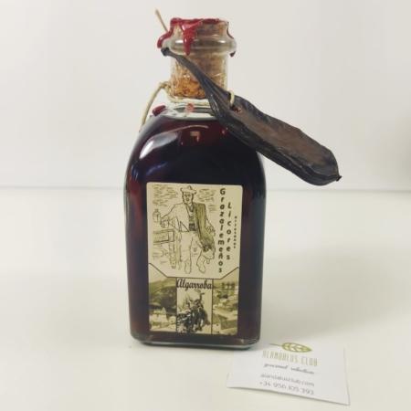 Licor de algarroba 250 ml. - Licores Grazalemeños