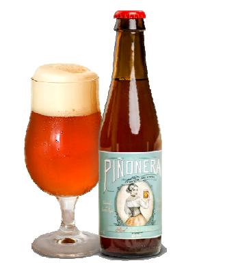 Cerveza Red Saison-IPA La Piñonera