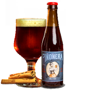 Cerveza artesana Winter Ale La Piñonera