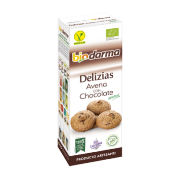 Spanish Oats Delicatessens With chocolate Biodarma
