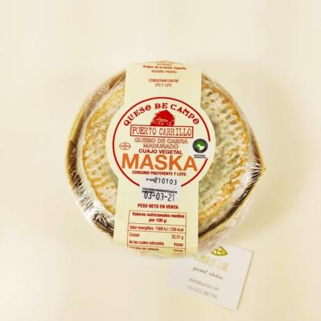 Queso de cabra madurado masks