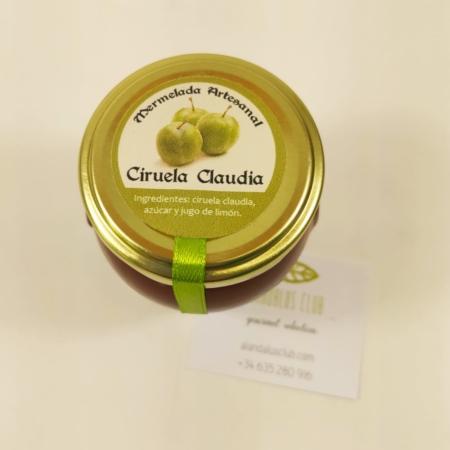 Mermelada extra artesanal de ciruela claudia de Licores Grazalema (120g)