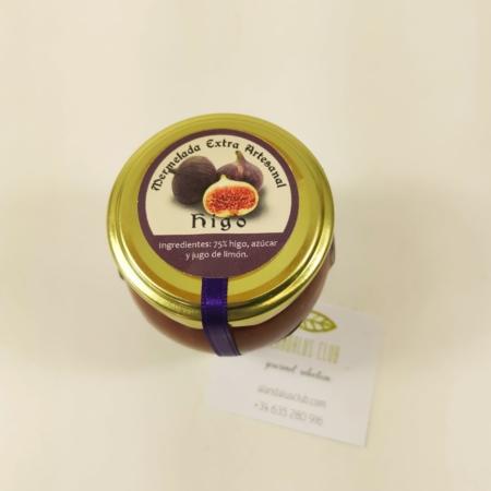 Mermelada extra artesanal de higo de Licores Grazalema (120g)