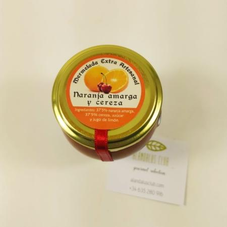 Acheter Confiture d'orange amère et de cerises - Licores Grazalemeños - 120g