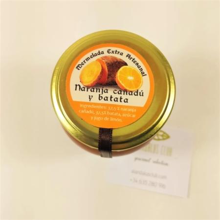 Acheter Confiture de orange douce et patate douce - Licores Grazalemeños - 120g