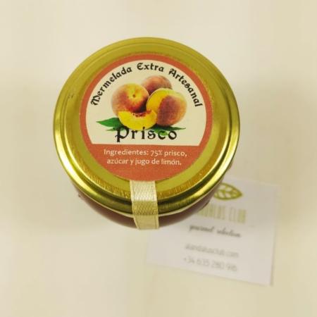 Mermelada extra artesanal de prisco Licores Grazalema (120g)