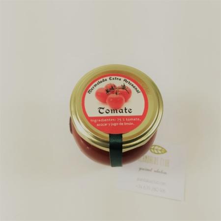 Mermelada extra artesanal de tomate de Licores Grazalema (120g)
