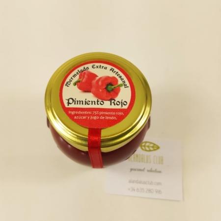 Mermelada extra artesanal de pimiento rojo de Licores Grazalema (120g)