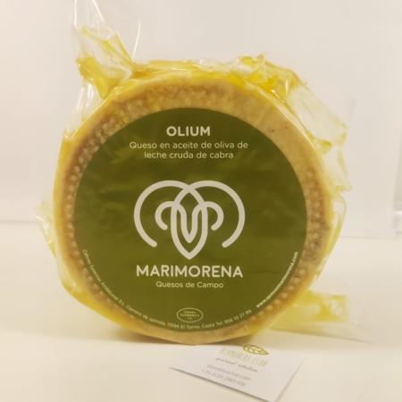Queso olium maduro por más de 150 días, de leche cruda de cabra