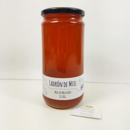 Spanish Milflores honey - 1kg - Ladron de Miel