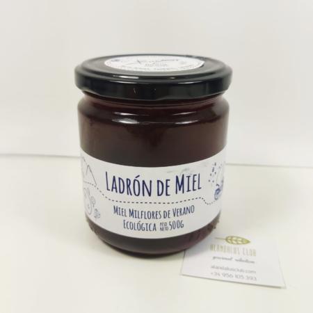 Spanish ecologic Milflores Summer honey - 500g - Ladron de Miel