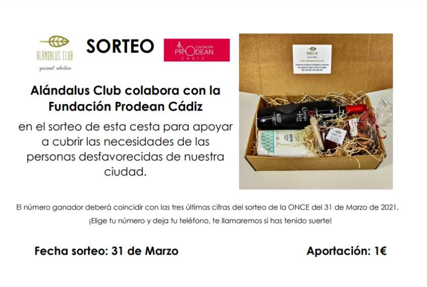 cesta prodean, proyecto solidario Cádiz