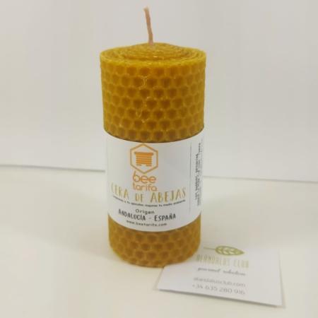 Vela de cera de abejas. Bee Tarifa.
