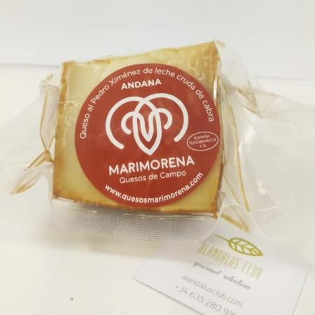 Fromage de chèvre Andana au Pedro Ximénez - 300g - Marimorena