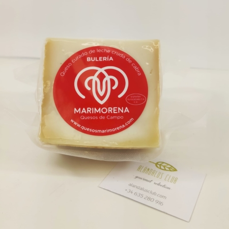 320g de queso bulería maduro de leche cruda de cabra