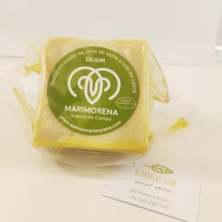 300 g. de queso olium maduro por más de 150 días, de leche cruda de cabra