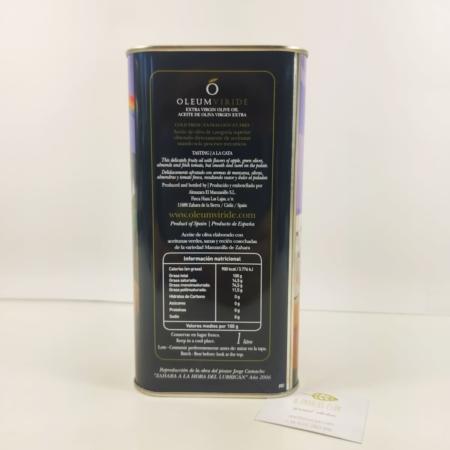 composicion aceite oliva virgen extra