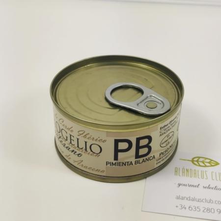 buy spanish iberian pate white pepper online alandalus club gourmet product