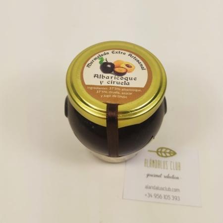 Acheter Confiture d'abricots et prunes 120g - Licores Grazalemeños