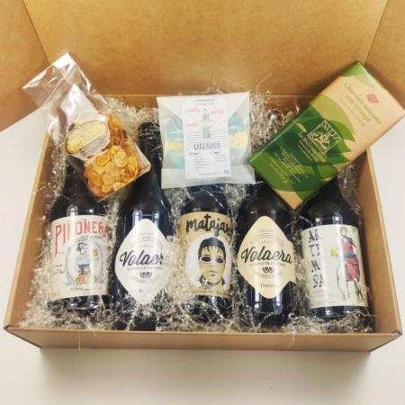 cesta cervezas gaditanas
